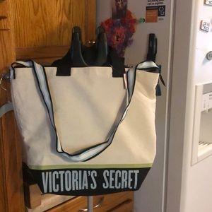 Victoria's Secret Cooler Canvas Begs